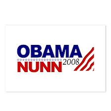 Obama Nunn 2008 Postcards (Package of 8)