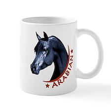 Black Arabian Stallion Mug