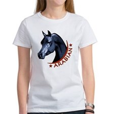 Black Arabian Stallion Tee