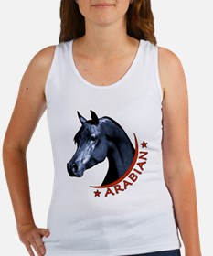 Black Arabian Stallion Women's Tank Top