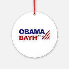 Obama Bayh 2008 Ornament (Round)