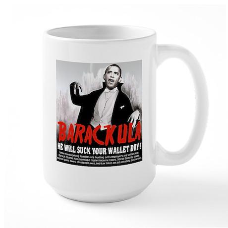 anti obama humor Large Mug