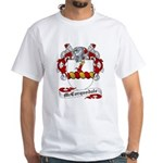 McCorquodale Family Crest White T-Shirt