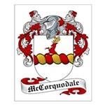 McCorquodale Family Crest Small Poster