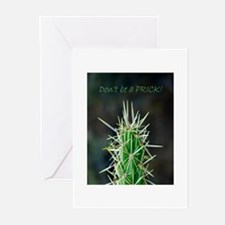 Don't be a PRICK! Greeting Cards (Pk of 10)
