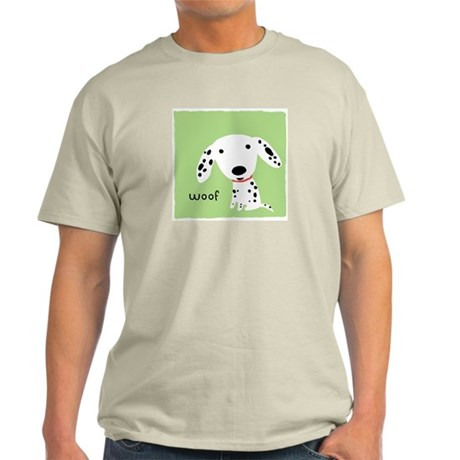 Dalmatian Woof Light T-Shirt