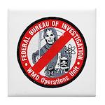 FBI WMD Unit Tile Coaster
