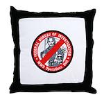 FBI WMD Unit Throw Pillow