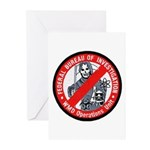 FBI WMD Unit Greeting Cards (Pk of 20)