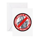 FBI WMD Unit Greeting Cards (Pk of 10)