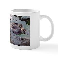 Sea Otter Love Small Mug