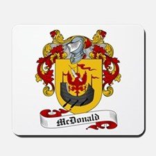 McDonald Family Crest Mousepad