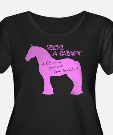 Ride a Draft! Horse T