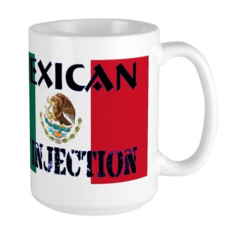 Mexican by Injection Large Mug