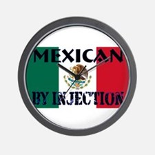 Mexican by Injection Wall Clock