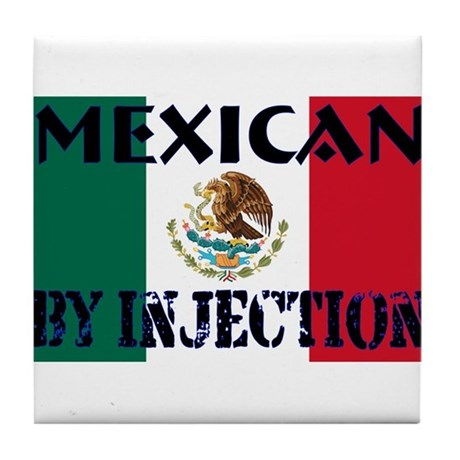 Mexican by Injection Tile Coaster