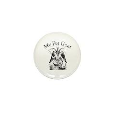 MY PET GOAT Mini Button (100 pack)