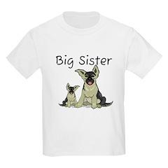 Dogs GS Big Sister T-Shirt