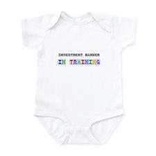 Investment Banker In Training Infant Bodysuit