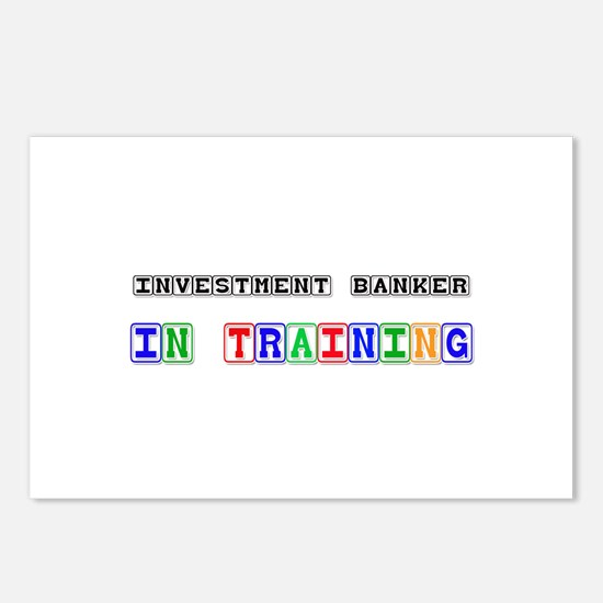 Investment Banker In Training Postcards (Package o