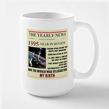 born in 1995 birthday gift Large Mug
