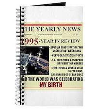 born in 1995 birthday gift Journal