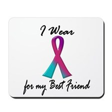 Thyroid Ribbon 1 (Best Friend) Mousepad