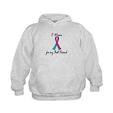 Thyroid Ribbon 1 (Best Friend) Hoodie