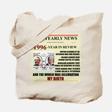 born in 1996 birthday gift Tote Bag