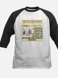 born in 1996 birthday gift Kids Baseball Jersey