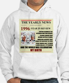 born in 1996 birthday gift Hoodie