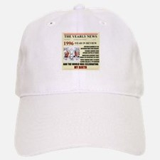 born in 1996 birthday gift Baseball Baseball Cap