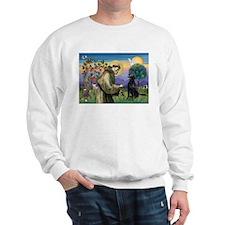 St. Fran/ Flat Coated Ret Sweatshirt
