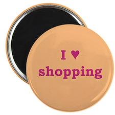 I Heart Shopping Magnet
