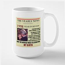 born in 1998 birthday gift Mug