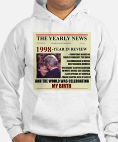 born in 1998 birthday gift Hoodie