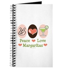 Peace Love Margarita Journal
