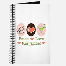Peace Love Margarita Journal