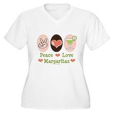 Peace Love Margarita T-Shirt