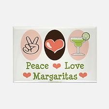 Peace Love Margarita Rectangle Magnet