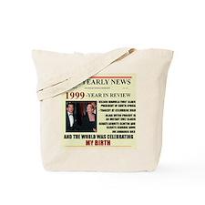 born in 1999 birthday gift Tote Bag