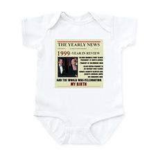 born in 1999 birthday gift Infant Bodysuit