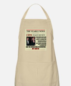 born in 1999 birthday gift BBQ Apron