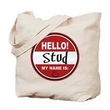 Hello my name is Stud Tote Bag