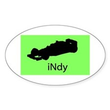 iNdy Oval Decal