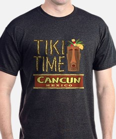 Cancun Tiki Time - T-Shirt