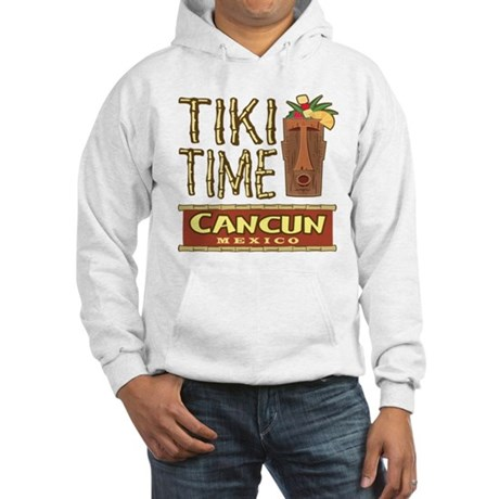 Cancun Tiki Time - Hooded Sweatshirt