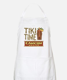 Cancun Tiki Time - BBQ Apron