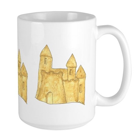 Sandcastle Large Mug