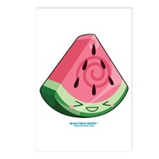 Kawaii Water Melon Slice Postcards (Package of 8)